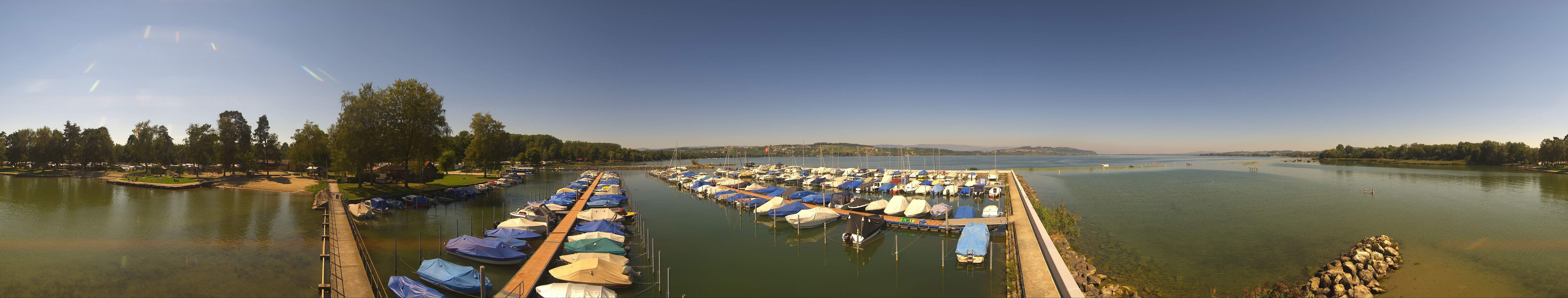 Webcam  Avenches Camping Plage